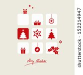 christmas card | Shutterstock .eps vector #152214947