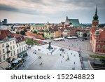 Castle Square In Warsaw Old...