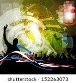 party people. vector   Shutterstock .eps vector #152263073