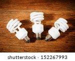 White Energy Saving Bulb ...