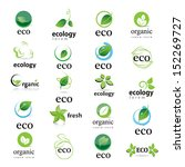 Ecology Icon   Set   Isolated...