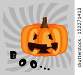 jack pumpkin   Shutterstock .eps vector #152271413