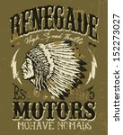 Renegade Motors Vintage Design for Apparel