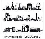 industry icons over white... | Shutterstock .eps vector #152302463