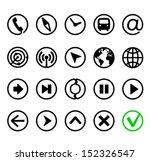 communication  navigation and...   Shutterstock .eps vector #152326547