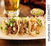 authentic mexican barbacoa ... | Shutterstock . vector #152344277
