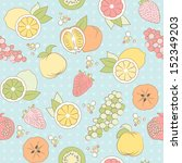 pastel seamless pattern with... | Shutterstock . vector #152349203