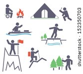 tourism. set icons for your...   Shutterstock .eps vector #152350703