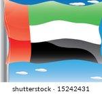 united arab emirates uae... | Shutterstock .eps vector #15242431