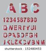 alphabet | Shutterstock .eps vector #152480453