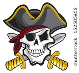 pirate | Shutterstock .eps vector #152505653