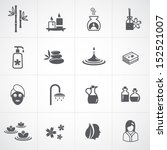 spa icons set | Shutterstock .eps vector #152521007