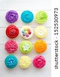 cupcakes | Shutterstock . vector #152530973