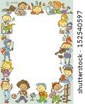back to school | Shutterstock .eps vector #152540597