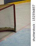 hockey net on the ice | Shutterstock . vector #152556857