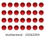 web buttons | Shutterstock .eps vector #15262354