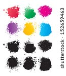 vector color spots  | Shutterstock .eps vector #152659463