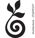 spiral plant | Shutterstock .eps vector #152695157