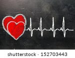 heartbeat character and design  ... | Shutterstock . vector #152703443