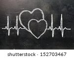 heartbeat character and design  ... | Shutterstock . vector #152703467