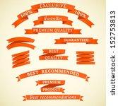 exclusive  bestseller  quality. ... | Shutterstock .eps vector #152753813