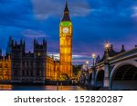 Big Ben Clock Tower And...