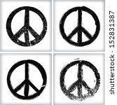 peace symbol | Shutterstock .eps vector #152831387