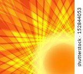 abstract orange vector... | Shutterstock .eps vector #152844053
