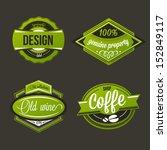 vector labels set | Shutterstock .eps vector #152849117