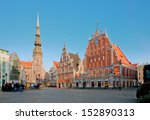 old town square in the center... | Shutterstock . vector #152890313