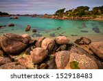 ploumanach  pink granite coast  ... | Shutterstock . vector #152918483