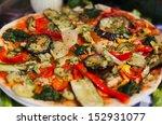 Italian Vegetable Pizza For...