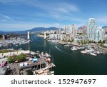 Stock photo the city of vancouver in canada 152947697