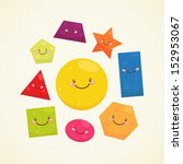 geometric shapes  square ... | Shutterstock .eps vector #152953067