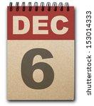 6  December Calendar On Recycl...