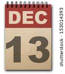 13  December Calendar On...