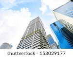 Financial District In Singapor...