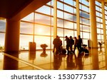 passenger at the airport ... | Shutterstock . vector #153077537
