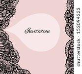 Invitation. Lace Background...