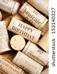 happy birthday card | Shutterstock . vector #153140327