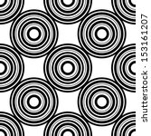 seamless pattern with circles ... | Shutterstock .eps vector #153161207