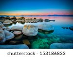 Rocks In A Lake  Lake Tahoe ...