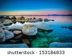 Rocks In A Lake  Lake Tahoe ...