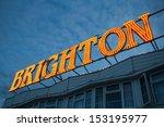 Brighton Pier Lights  England ...