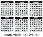 people  transport  medical ... | Shutterstock .eps vector #153196247