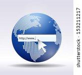 http   www. written in search... | Shutterstock .eps vector #153211217