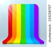 Rainbow Stripes Realistic...