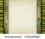 template   handmade paper and... | Shutterstock . vector #153320087
