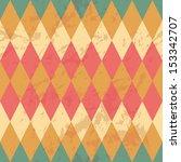 abstract retro geometric vector ... | Shutterstock .eps vector #153342707