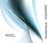 abstract vector background in... | Shutterstock .eps vector #153344987